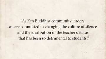 Zen Buddhist Teachers Open Letter Confronting Abuse Lion's Roar Buddhism Sexual Assault Eido Shimano