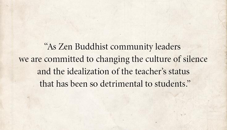 Zen Buddhist Teachers Open Letter Confronting Abuse Lion's Roar Buddhism Sexual Assault Eido Shimano