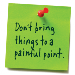 Don't bring things to a painful point Lion's Roar Buddhism Lodro Rinzler Shambhala Sun Mahayana Slogans Lojong