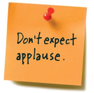 Don't expect applause Lion's Roar Buddhism Lodro Rinzler Shambhala Sun Mahayana Slogans Lojong