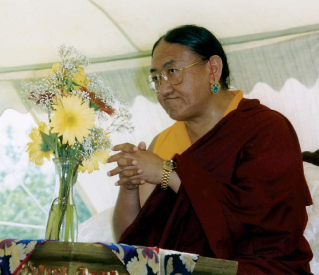 Sakya Trizin Major Changes Buddhism Lion's Roar News Tibet