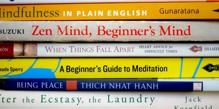 Buddhist books Pema Chodron Chogyam Trungpa Rinpoche Shunryu Suzuki Roshi Jack Kornfield Sharon Salzberg Dzongsar Khyentse Rinpoche meditation library