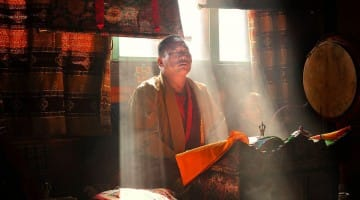 David Butow Monk Bhutan Interview Lion's Roar Buddhism Art Photography