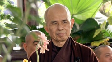 Thich Nhat Hanh. Photo by Velcrow Ripper.