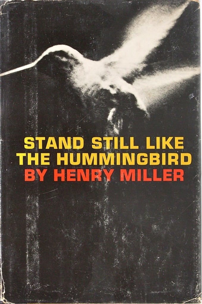 Henry miller Buddhist Lion's Roar hummingbird