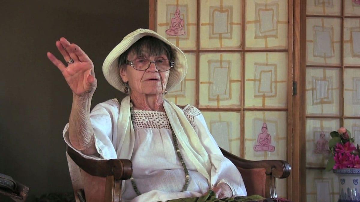Ruth Denison Indiegogo Documentary Women Feminism Buddhism Lion's Roar