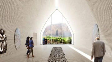 Bamiyan Cultural Center Afghanistan Buddhism Buddhas Lion's Roar News
