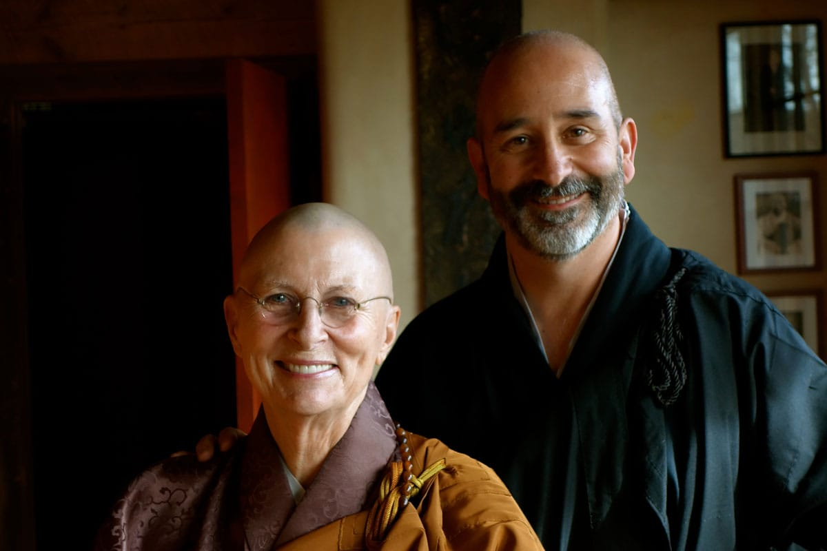 Joshin Brian Byrnes Roshi Joan Halifax Upaya Zen Center Abbot Lion's Roar Buddhism News