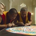 Watch: Tibetan Monks make sand mandala on House of Cards