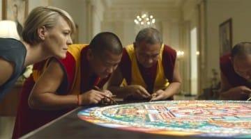 House of Cards Sand Mandala Tibet White House Underwood Kevin Spacey Robin Write Buddhism TV Netflix Lion's Roar Pop Culture Art News