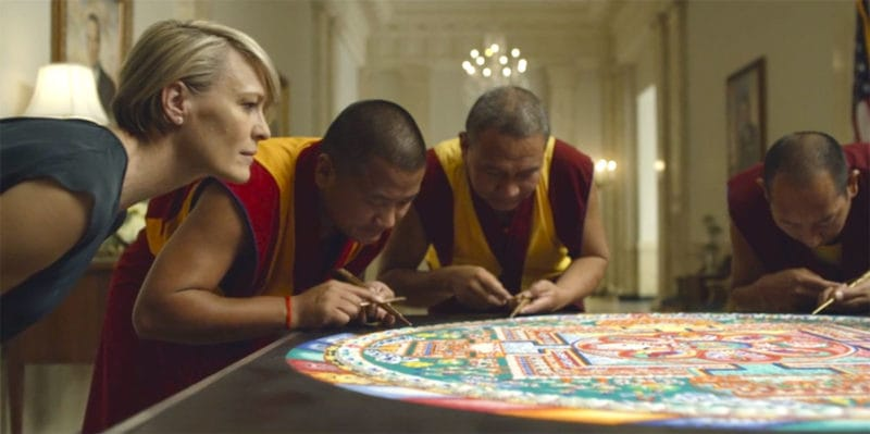 House Of Cards S03E07 OST   Monks Theme