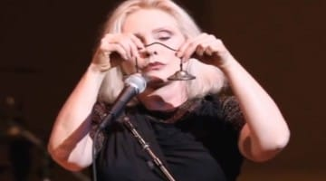 "Debbie Harry on playing ""Heart of Glass"" at the concert: ""Heart of Glass"" at the coming Tibet House benefit: ""...it's about love and lost love and there's definitely a loss that Tibetans are suffering. The song's about getting beyond that loss, and Tibetans can fully appreciate that sentiment."""