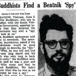 Allen Ginsberg the spy?