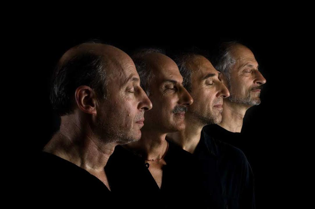 The Kornfield brothers: Twin brother Irv, Jack, Kenneth, Laurence.