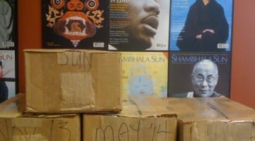 Our second annual batch of magazines and Buddhist books for inmates in the L.A. County system went out last week.