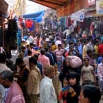 A typical day in Old Delhi