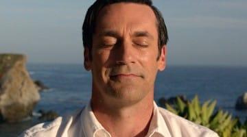 mad men don draper meditating finale breakthrough