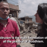 Shechen Monastery Boudhanath 2015 Earthquake Nepal Matthieu Ricard Buddhist Organizations Relief Donations Support Help Aid Victims Lion's Roar News vice news video watch