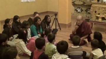 dzongsar khyentse rinpoche children playing sharing kindness happiness growing up kids talk parents