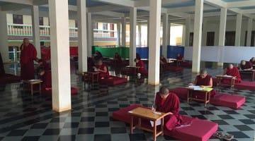 geshema exams phd tibetan buddhist female nuns geshe study scholar