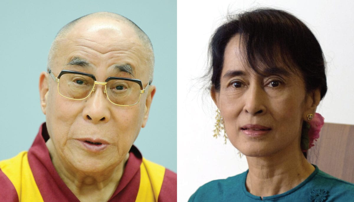 dalai lama urges aung san suu kyi defend rohingya lion 39 s roar. Black Bedroom Furniture Sets. Home Design Ideas