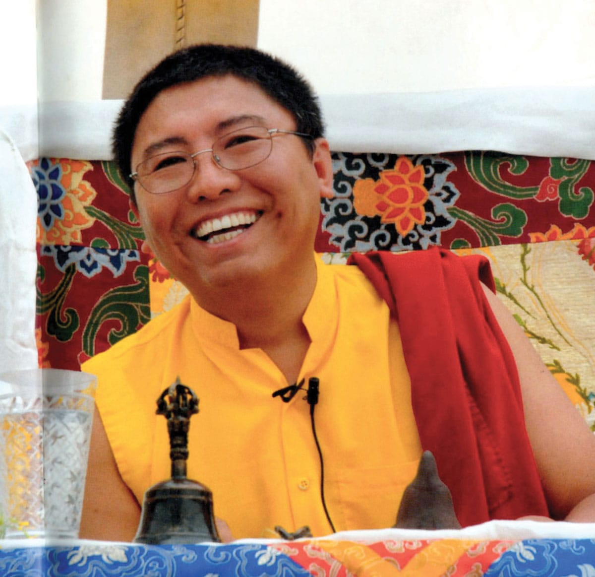 tsoknyi rinpoche, gauge your spiritual practice, waking up in every moment, lion's roar, buddhism, shambhala sun, meditation