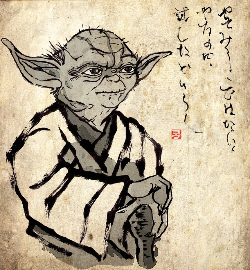was yoda based on this buddhist master lion s roar yoda zen buddhist zenga by gitoku
