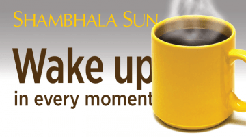 shambhala sun july 2015 wake up in every moment coffee cup