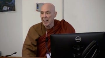 bhikkhu bodhi, 4 noble truths, climate change, white house, climate crisis, buddhism, lion's roar, buddhist global relief