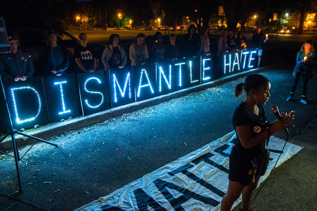 dismantle hate, light brigade, angel kyodo williams, racism, white privilege, white supremacy, lion's roar, buddhism, news, charleston