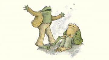 frog and toad, kathryn jezer-morton, books, children, kids, arnold lobel, lion's roar, buddhism