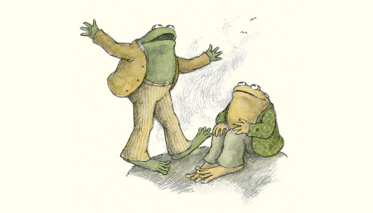 discovering the dharma in frog and toad lion s roar