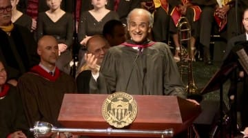 pico iyer, usc, commencement, address, speech, video, watch, baccalaureate, leonard cohen, meditation, technology, happiness, lion's roar, buddhism
