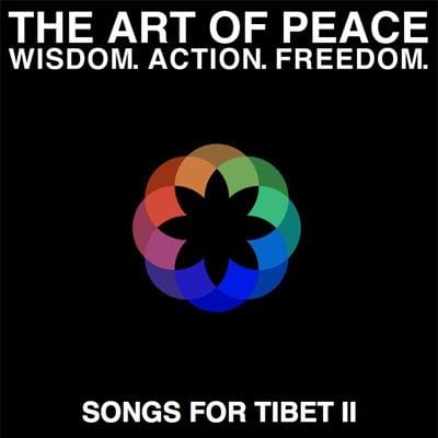 dalai lama, birthday celebrations, lion's roar, buddhism, glastonbury, 80, songs for tibet ii, songs for tibet, sting, kate bush,