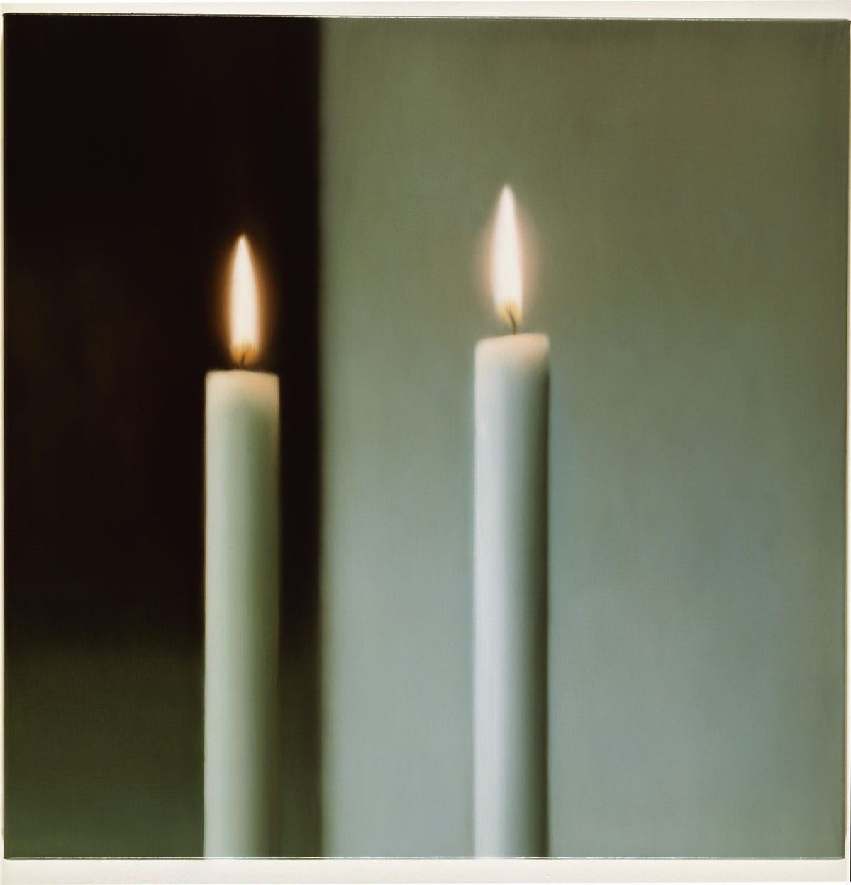 Richter Two Candles Two Candles by Gerhard