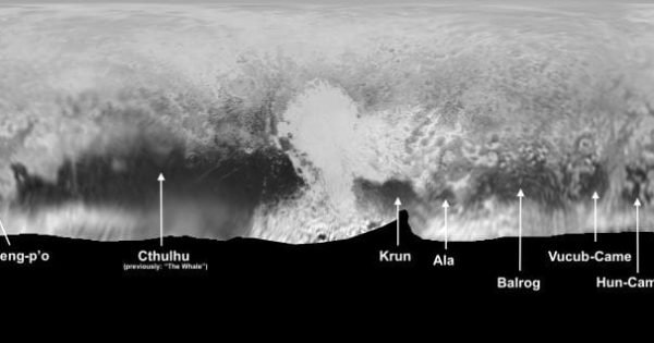 NASA gives Buddhist nickname to region of Pluto