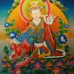 Padmasambhava gives Advice to King Trisong Detsen I