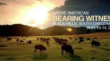 bearing witness, native american