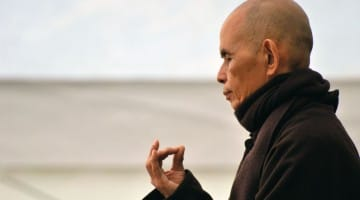 thich nhat hanh, happiness, lion's roar, buddhism, shambhala sun, magazine, buddhism