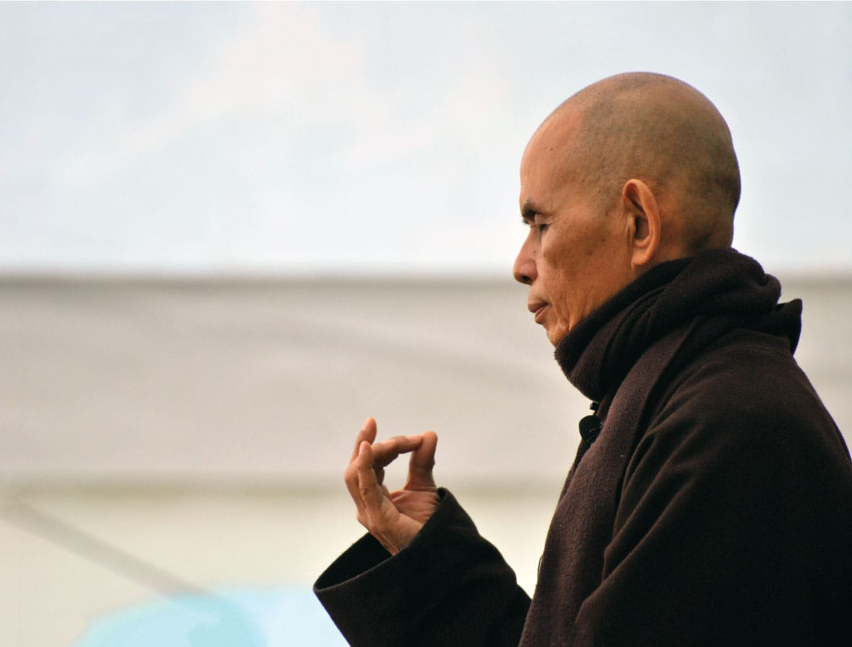 the interesting buddhist life of thich naht hahn Author of many books (including the bestsellers being peace, living buddha/living christ, the miracle of mindfulness and peace is every step), thich nhat hanh has had a profound impact on contemporary.