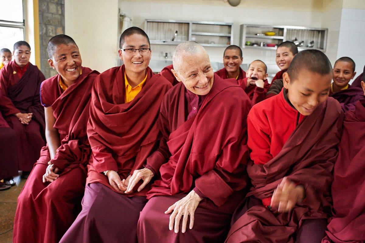 tenzin palmo, tibetan buddhism, lion's roar, shambhala sun, nuns, monastery, dominique butet, olivier adam