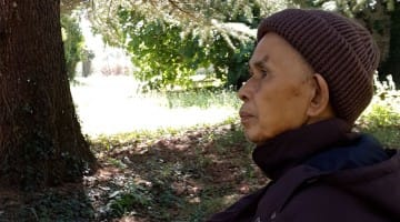 thich nhat hanh, that, usa, health, stroke, rehabilitation, recovery, donation, fund, lion's roar, buddhism news