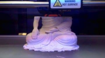 buddha, statue, 3d print, lion's roar, buddhism, news