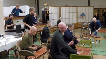 marimba, music, monks, great vow monastery, lion's roar, jan chozen bays, andrea miller, buddha's daughters, buddhism