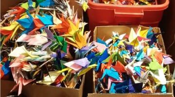 upaya, zen, paper cranes, nonviolence, los alamos, hiroshima, nagasaki, atomic bomb, news, buddhism