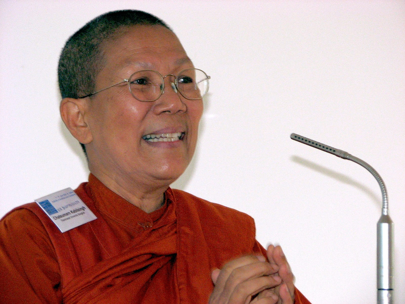 Venerable Dhammananda, Thai nuns, Thai Buddhism, nuns, ordination of nuns, ordination of women, Buddhist nuns, bhikkhuni