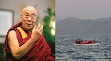 dalai lama, refugees, buddhism, news