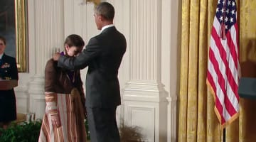 obama, meredith monk, medal of arts, america, lion's roar, buddhism, news