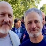 A cop, a Zen peacemaker — and Jon Stewart — join together for 9/11's first responders