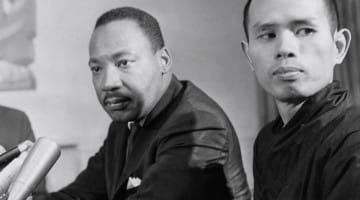 Thich Nhat Hanh, Martin Luther King Jr, Nobel Peace Prize, Pacem in Terris Peace and Freedom Award, Thay, Lion's Roar,